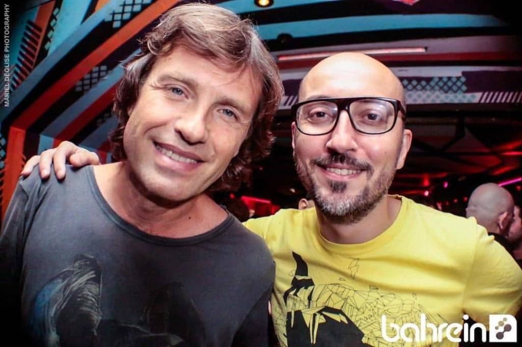 With Hernan Cattaneo